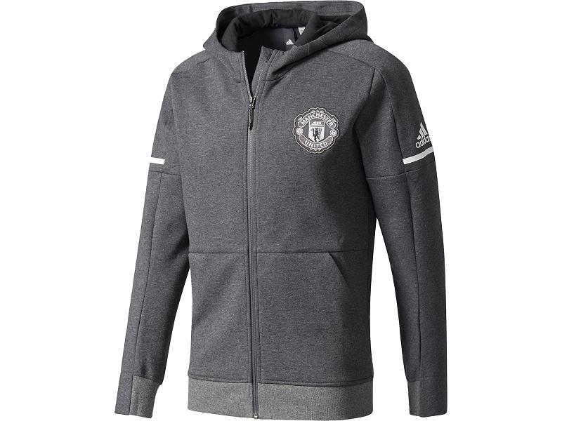 aa6524678c Manchester United Adidas dětská mikina s kapucí (17-18)